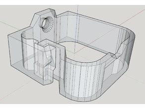 Mountable Wire Clip (based on julvr's) with SketchUp file