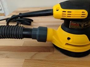 "Dewalt Orbital Sander Adapter for Shop Vacuum (1.25"") Hose"
