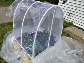 PVC Fittings for Hoop House style Greenhouse