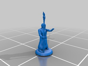 Young Wizard - Staff - Generic Models