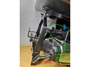 Graupner MX-20 Monitor holder mount