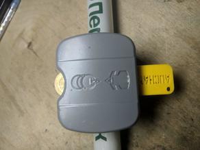 Auchan cart keychain plug