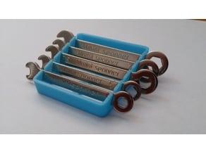 Mini stubby wrench holder