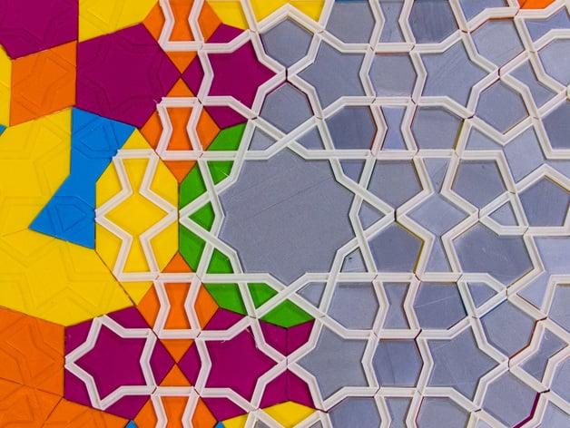Girih Tiles For Interactive Islamic Designs By Mathgrrl