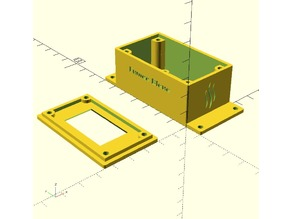 Electronic project box