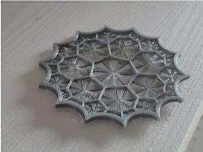 Klein quartic tiled by heptagons