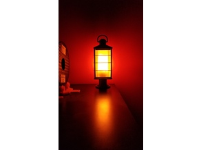 Pedestal Oil Lantern