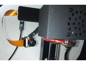 Anycubic i3 Mega Pi zeroW camera mount