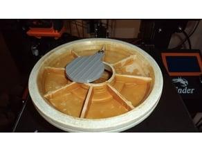 Plate For Standard Skimmer Diverter Valve