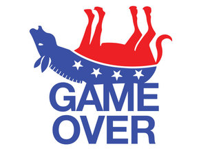 Game Over plaque