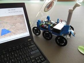 Mars Rover Raspberry Pi Arduino Robot Platform