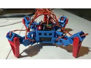 12 dof quad robot