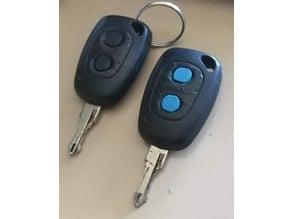 Opel Vivaro Van Key Button