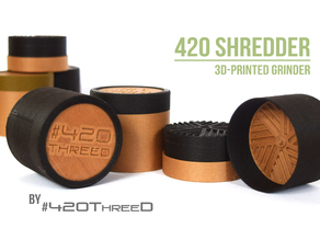 TOOTHLESS Herb Grinder - by 420ThreeD