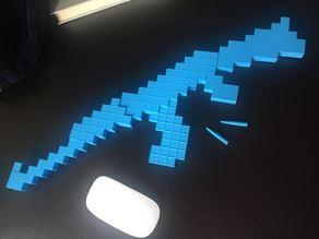 AK-47 Minecraft game Accessories