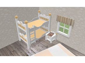 Configurable bed or bunk bed