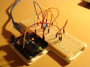 Support pour Funduino UNO Starter Kit (Support for Funduino UNO Starter Kit)