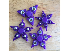 Customizable Edgy Fidget Star (pick-a-weight)