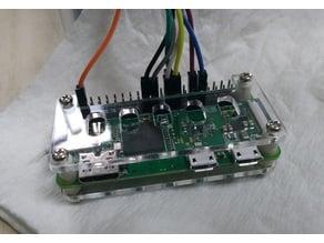 Raspberry Pi ZERO W Acrylic case