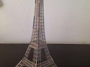 Eiffel Tower Paper Model