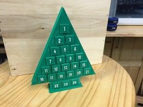 Advent Christmas Tree Calendar
