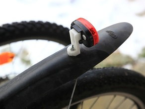 Bicycle Tail Light Mount