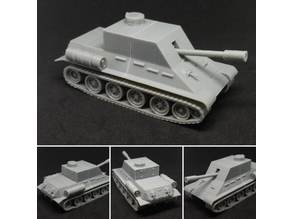 Modified T-34 1/56th 28mm Scale for Miniature Wargaming