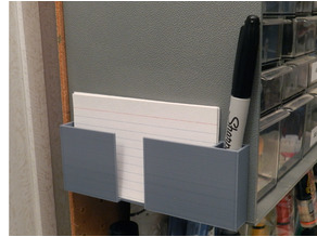 3 X 5 Index Card and Pen Holder