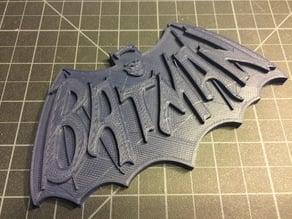 Retro Batman Logo