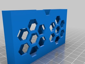Hex Business Card Holder