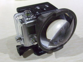 GoPro Hero3 Lense Adaptor
