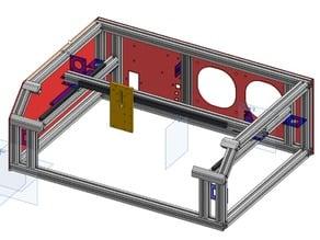 Desktop Dual Laser CNC