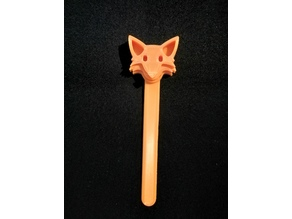 Emoji Fox Bookmark