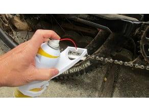 Chainsaver Aerosol spray nozzle