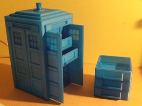Tardis with drawers