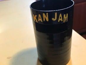 Kan Jam Koozie