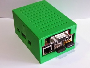 A small enclosure for a Raspberry P B+/2 and the Pi TNC board