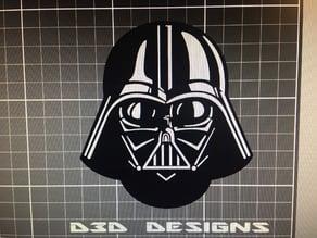 Darth Vader receiver hitch cover MMU