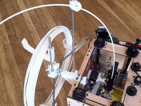 Minimalistic spool mount