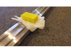 Pinewood Derby Track Cleaner