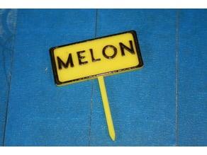 Panneau potager Melon