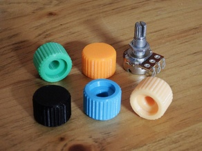 Knob 6mm Solid
