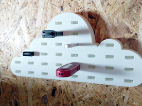 Cloud Storage XL - USB Stick Organiser