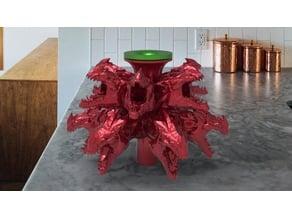 dragon bell fountain
