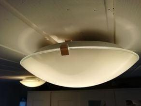 Ceiling lamp clamp