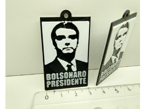 Bolsonaro Presidente (Chaveiro)