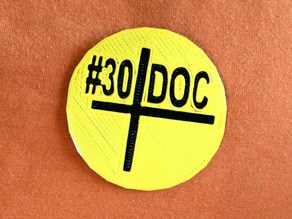 #30DoC Badge @createstuff