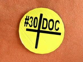 #30DoC Badge @createstuff
