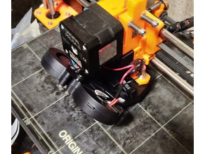 Double fan cooling for Prusa i3 MK2 and MK2S