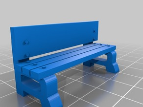 28mm Bus Stop Bench